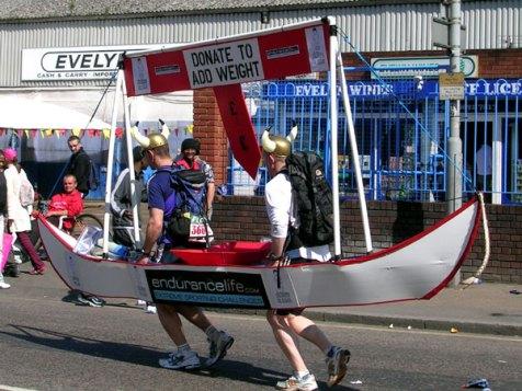 Vikings At The London Marathon
