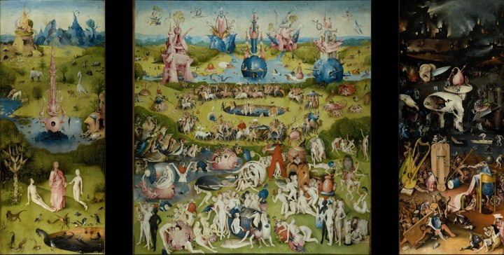 "Hieronymus Bosch's ""Garden of Earthly Delights"""