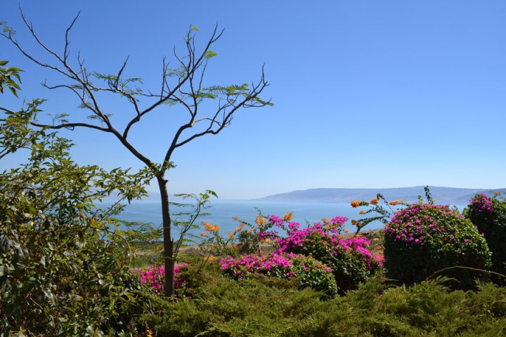 A View From The Mount of Beatitudes