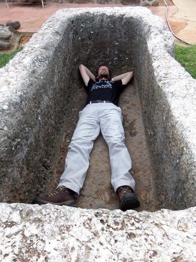 Inside a Sarcophagus