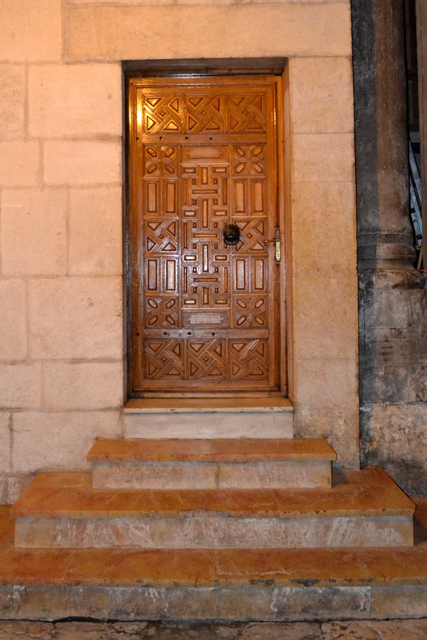 An inner door of the Holy Sepulchre