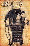 Horus Doodle