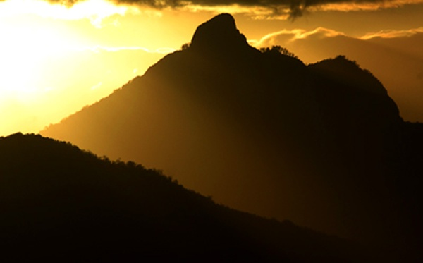 Mount Warning by an unknown photographer