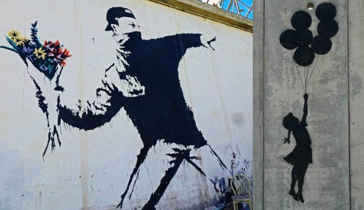 Banksy-mural