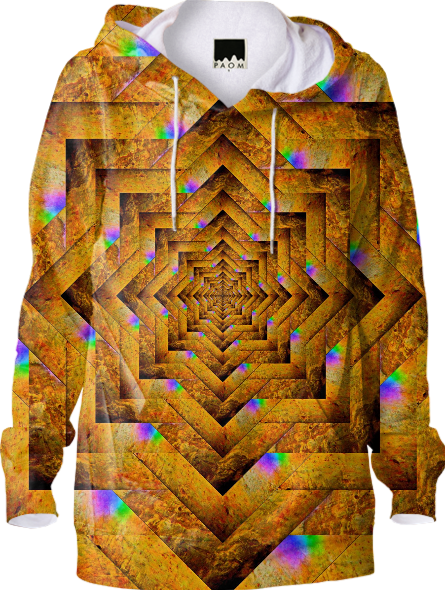 Golden Mandala Hoodie