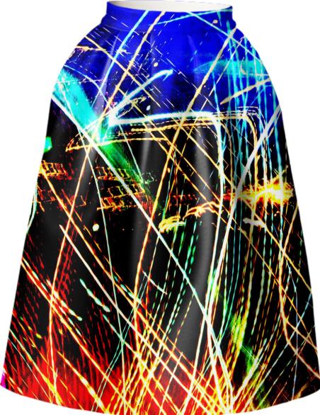 Night Life Full Skirt