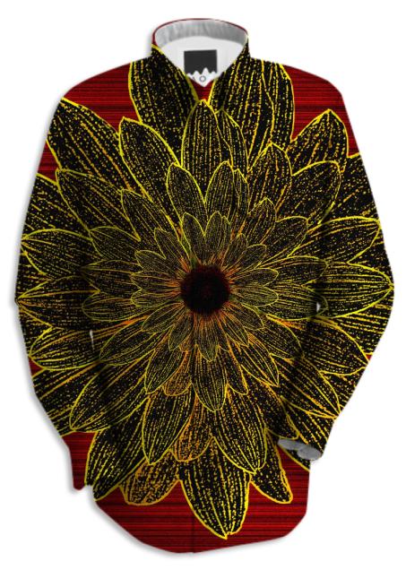 Sunflower Star Work Shirt